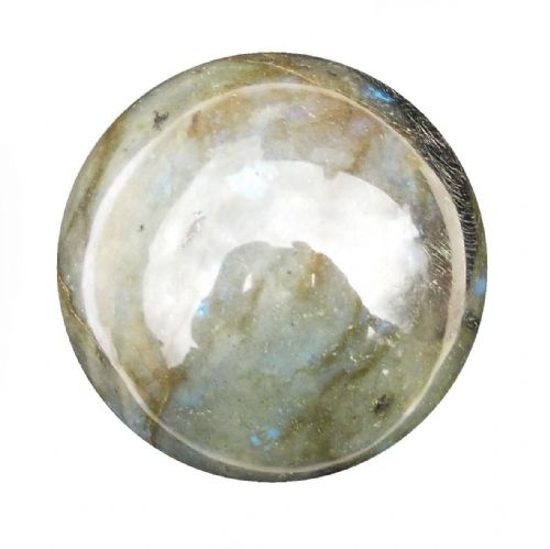 Labradorite Crystal Ball Scrying Divination Fortune Telling Sphere 59mm 290g LA8